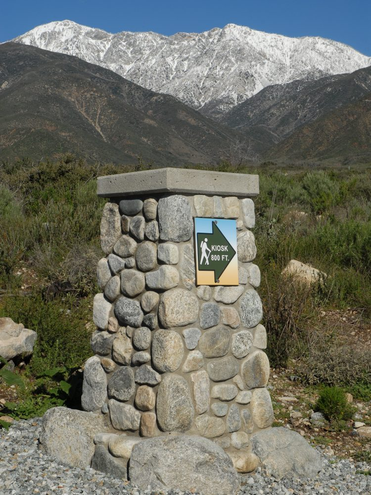 Nature reserve monument